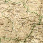 Златоустовский уезд Уфимской губернии. Карта 1871 г.