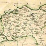 Мензелинский уезд Уфимской губернии. Карта 1871 г.