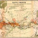 Азиатская часть России, карты начала XX в.