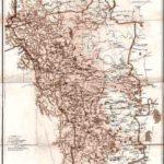 Екатеринбургский уезд Пермской губернии. Карта 1903 года